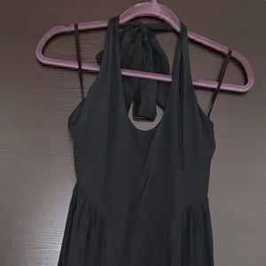 Juicy Couture Black Seamed Festival Dress Size 0